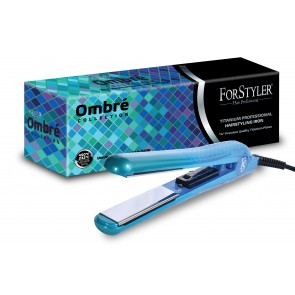 Aquamarine (Blue) Ombre Hair Styling Iron